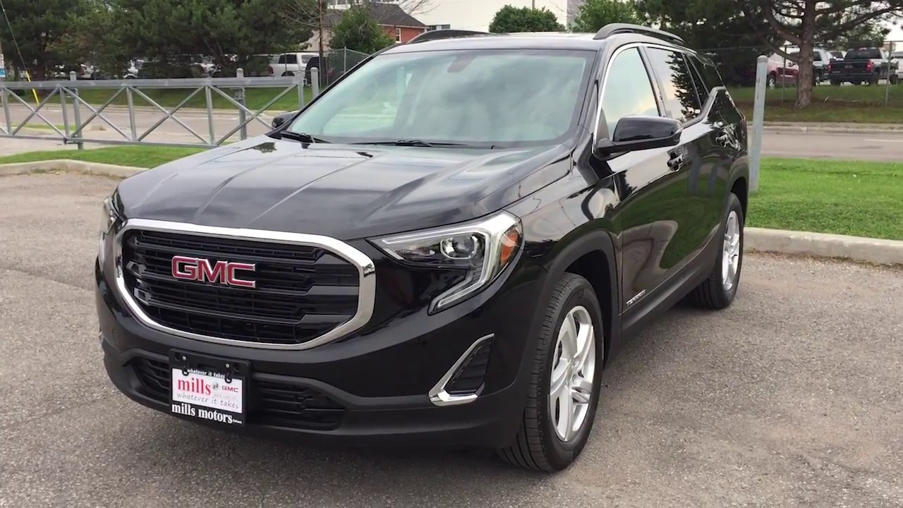 2018 GMC Terrain SLE AWD NEW REDESIGN Onyx Black Oshawa ON Stock     2018 GMC Terrain SLE AWD NEW REDESIGN Onyx Black Oshawa ON Stock  180002