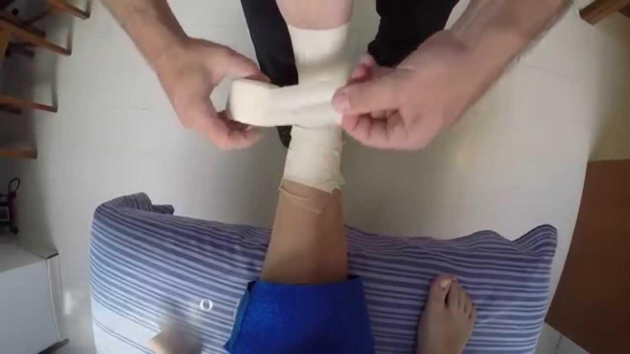 4e82b64a21f4d Bandagem rígida para tornozelo - YouTube