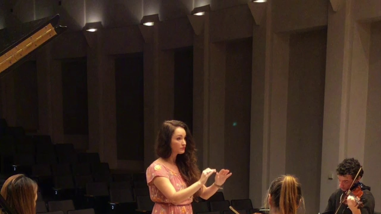 Haydn Symphony 101, Movement III Excerpt - ASU Studio Orchestra
