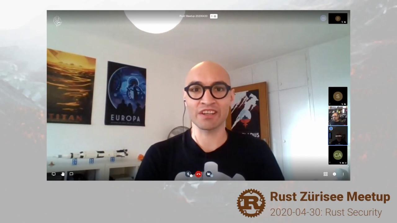 Rust Zürisee, April: cargo crev and cargo audit