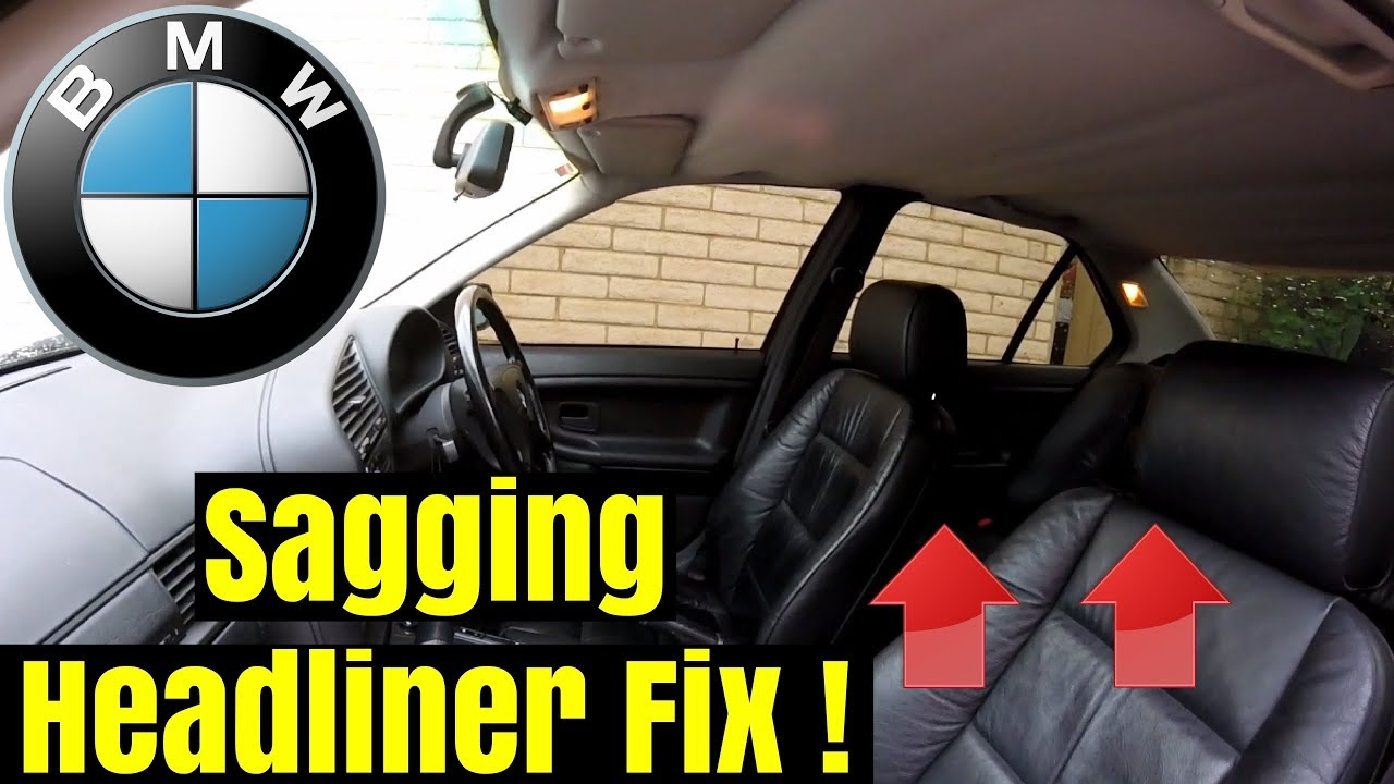 bmw e46 coupe headliner removal