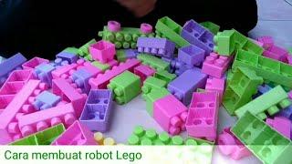 Cara membuat robot lego