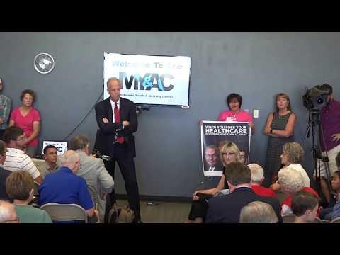 Senator Jerry Moran Palco Town Hall 2/3