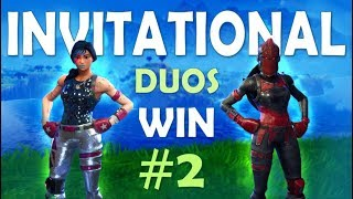 DUO INVITATIONAL WIN #2 | Ft. CAMILLS (Fortnite Battle Royale) thumbnail