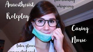 German ASMR -  Anaesthesist Roleplay with lots of personal Attention
