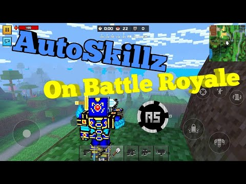AutoSkillz Mod Menu On Battle Royale! (Pixel Gun 3D)