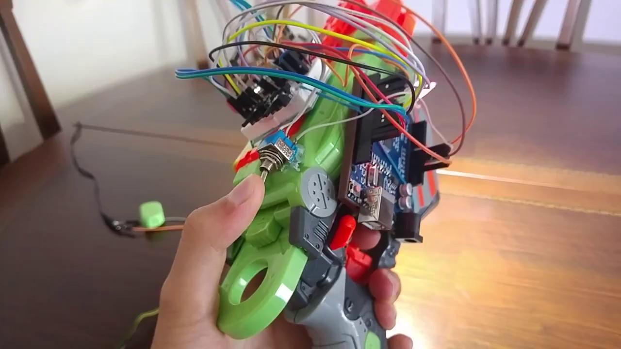 Arduino ev yapımı nerf stroboskop ve w el feneri