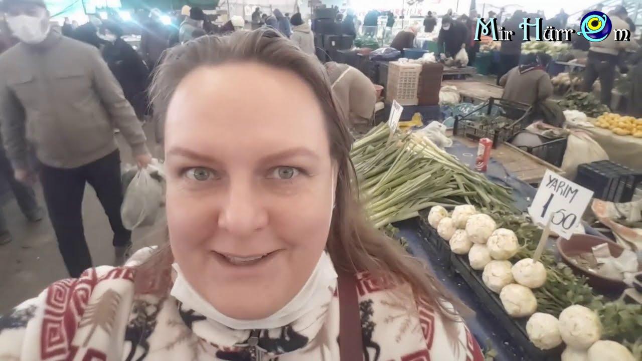 Турецкий базар подробно и попутные впечатления :) г. Измир, р-н Измирспор, 18.02.21