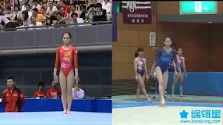 Same Music Different Gymnasts - Oshima Kyoko 大島杏子vs Yamamoto Chinatsu 山本千夏 山本千夏 検索動画 25