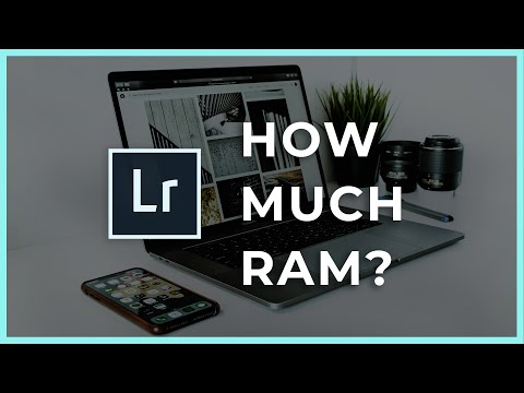 How Much Ram For Photo Editing? 8gb Vs 32gb Upgrade Lightroom Ram Comparison