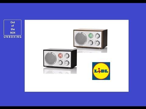 SilverCrest Bluetooth Radio SRBN 5 A1 UNBOXING (Lidl Radio)