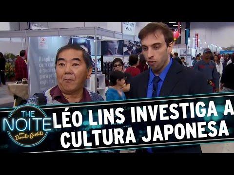 The Noite (19/07/16) - Câmera The Noite: Léo Lins investiga a cultura japonesa no Brasil