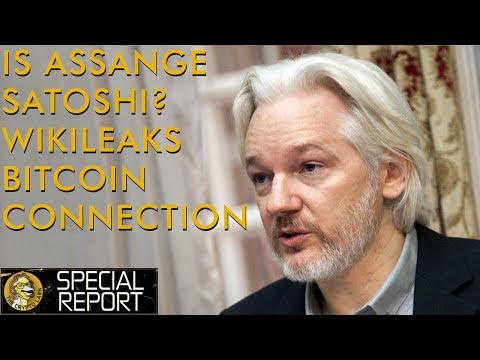 Julian Assange Satoshi Connection & Wikileaks Bitcoin & Crypto Pioneer