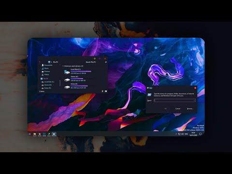 Make Your Desktop Modern. Paranoid Theme For Windows 10