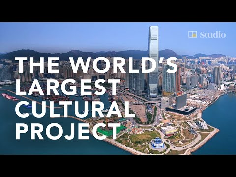Wander through Hong Kong's West Kowloon Cultural District