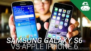 Samsung Galaxy S6 vs Apple iPhone 6