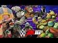 Teenage Mutant Ninja Turtles   Mini Royal Rumble WWE 2K18