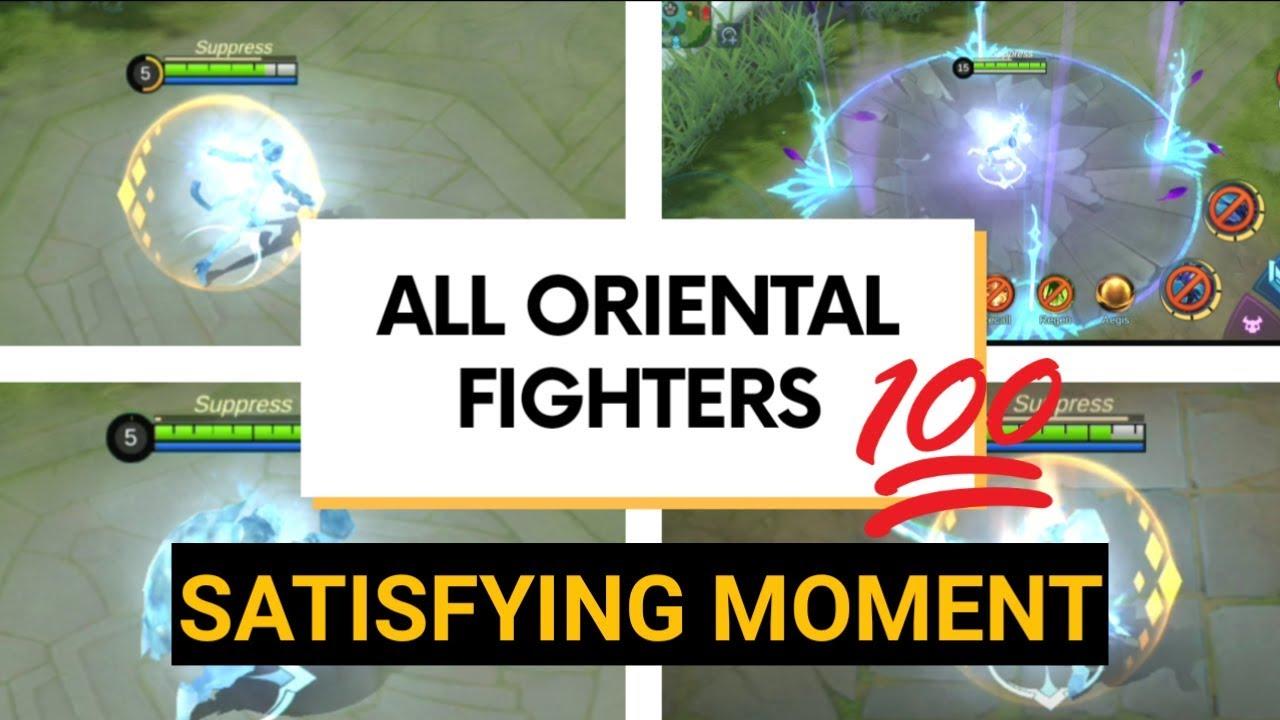 all oriental fighters satisfying video of mobile legends. Black Bedroom Furniture Sets. Home Design Ideas