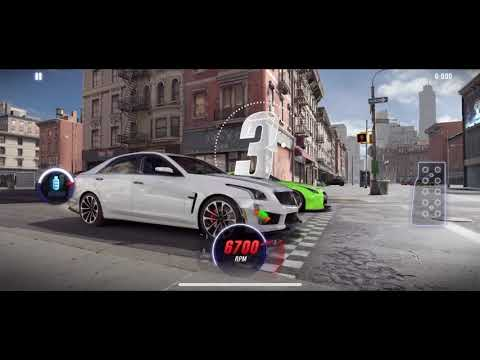 CSR Racing 2 Cadillac CTS-V Maxed Tune/Pattern 11.39x