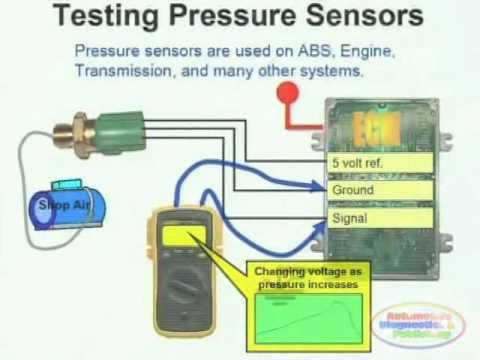 Pressure Sensor Wiring Diagram Youtube