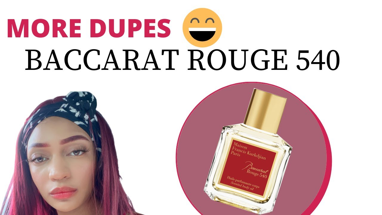 YES...MORE AFFORDABLE BACCARAT ROUGE DUPES / FREDRICO MAHORA / PERFUME  COLLECTION / VALLIVON