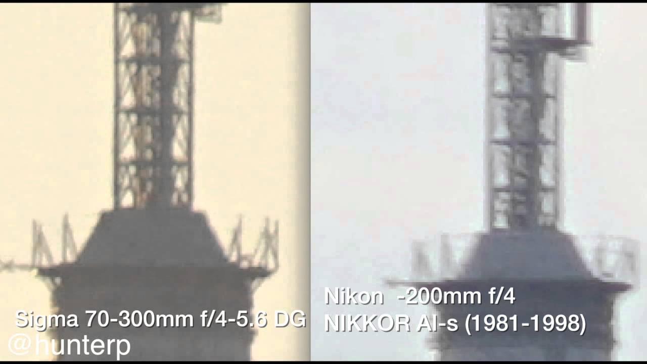 Sigma 70 300mm F 4 56 Dg Macro Telephoto Zoom Lens Review Youtube Os For Nikon