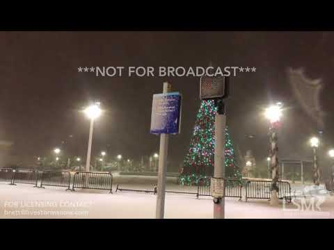 1-4-18 Virginia Beach, VA BLIZZARD Conditions - Freezing Spray from Atlantic Coast
