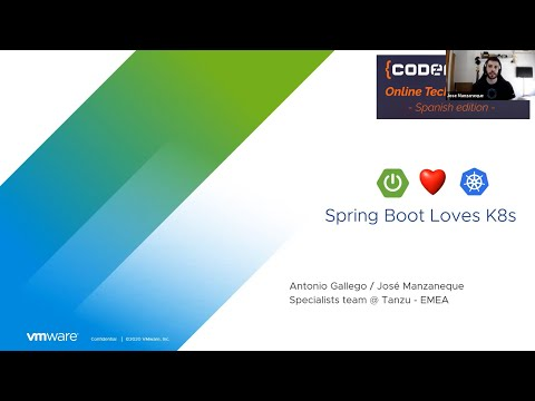 CodeMotion 2020: SpringBoot Loves K8s en Español