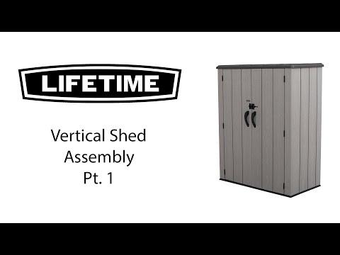 Lifetime Aufbauvideo Teil 1
