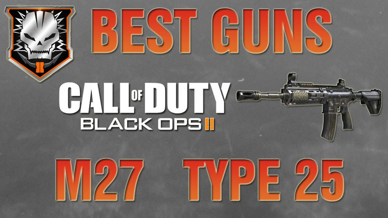 what is the best gun on black ops 2