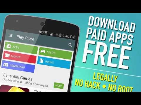 Paid APPS GAMES For FREE On Android Without ROOT (2018)