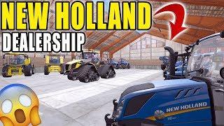 NEW HOLLAND DEALER | SKETCHY DELIVERY'S | MULTIPLAYER | FARMING SIMULATOR 2017