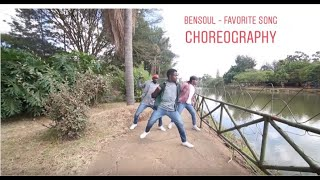 Bensoul - Favorite Song (Official Dance Video) - Choreography by Githendu