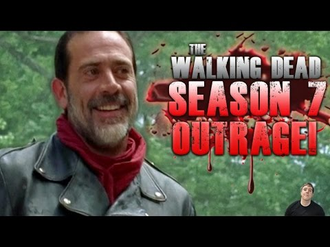 The Walking Dead Season 7 Premiere Fans Outraged at Negan!