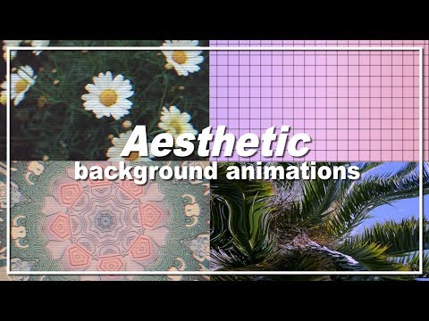 20 Aesthetic background animations PART 3 / for Youtube
