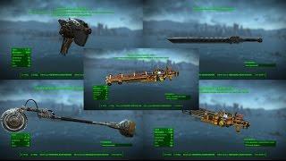 Fallout 4 ТОП Новое Оружие Automatron