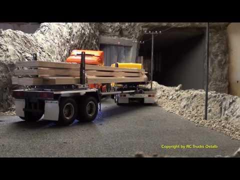 RC Trucks Ostalb - Amazing! RC Trucks on Tour T1 MAN! Scania! Mercedes! Scale Art! RC Dumper!