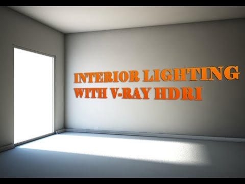 Interior Lighting With V-Ray HDRI