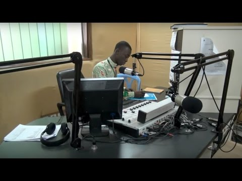 Radio station spreads vital information in Côte d'Ivoire