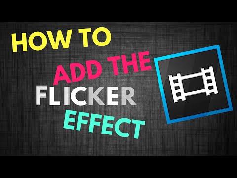 How To Add The Flicker Effect In Sony Vegas Pro 13