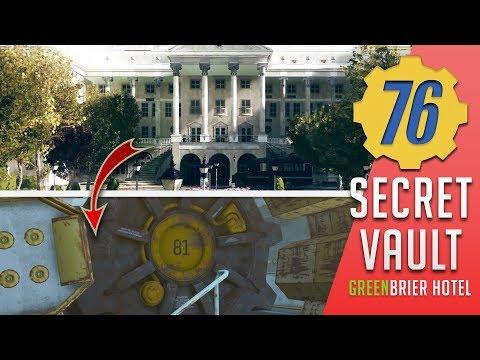 Greenbrier Hotel - Secret Enclave Robot Bunker | Fallout 76