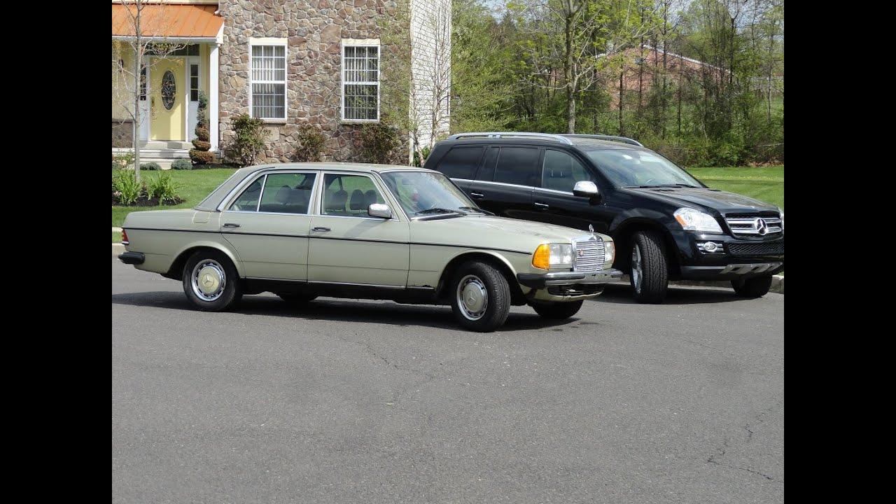1984 Mercedes Benz 300d 4 SPD euro Spec w123 new interior - YouTube