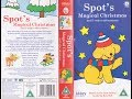 Spot's Magical Christmas and 5 other Adventures (2004 UK VHS)