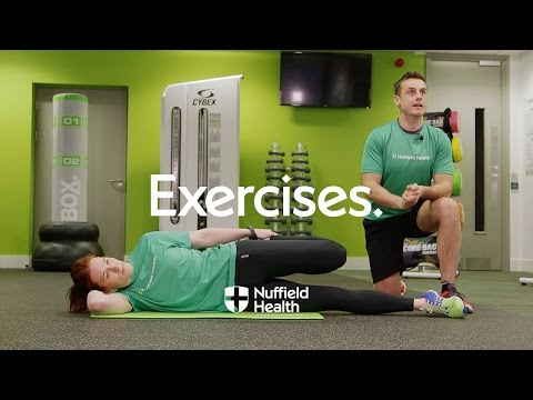 How To Side Hip and Quad Stretch | Nuffield Health