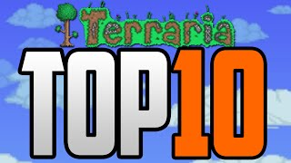 Top 10 Lucky Unlucky Moments In Terraria PART 2 Terraria Top 10 World Generation Moments 1.3