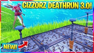 * NEW * PLAYING CIZZORZ DEATHRUN 3.0! CODE IN DESCRIPTION! | Creative Fortnite