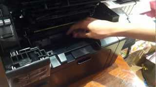 HP LaserJet Pro M1132 MFP Printer Unboxing(Hey Guys whats up im back again but now with a different video, its an unboxing video of The New HP LaserJet Pro but Guys as i said im not gonna be able to ..., 2012-05-22T01:16:52.000Z)