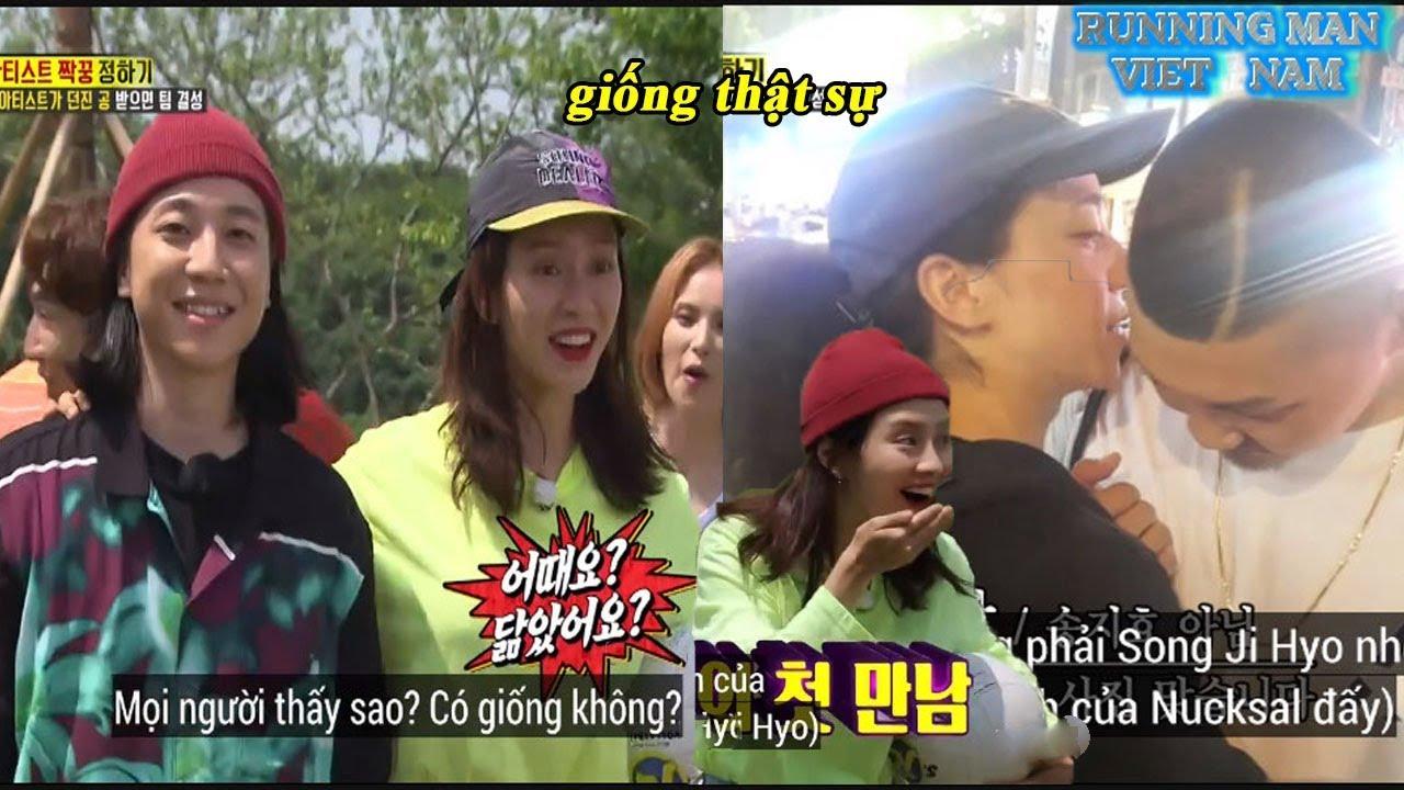 Running Man Ep 458 : Song Ji Hyo Bất Ngờ Khi Gặp Được Người Được Xem Là Anh Em Sinh Đôi Thất Lạc