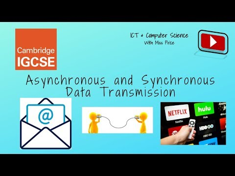 Asynchronous And Synchronous Data Transmission