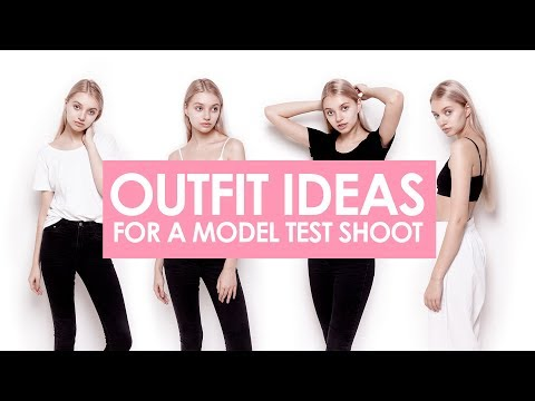Outfit ideas for a model test shoot | Modeling portfolio | Book | Photoshoot backstage |  ENG subs